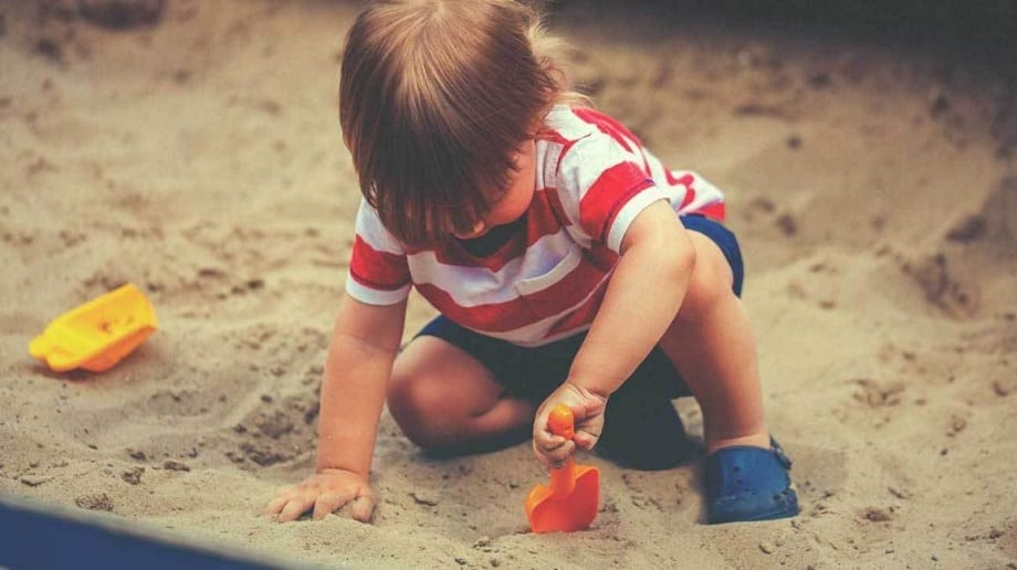 Toddle in the Sand