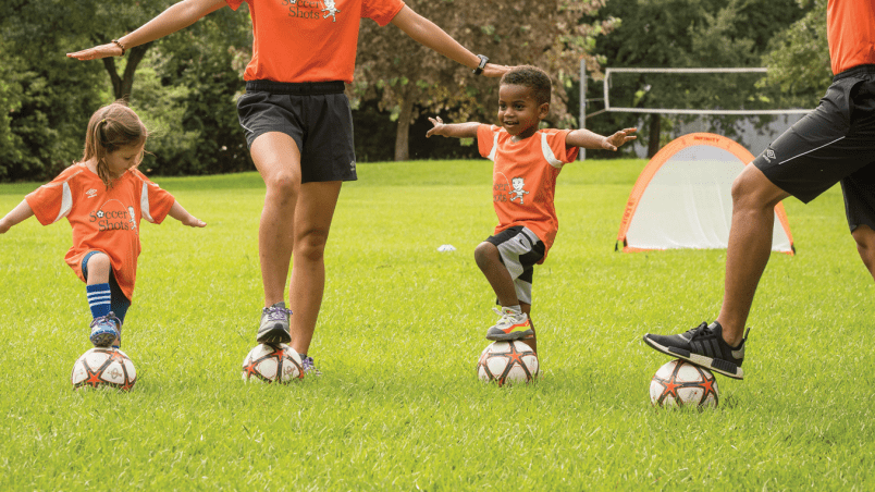 Toddler Soccer Training