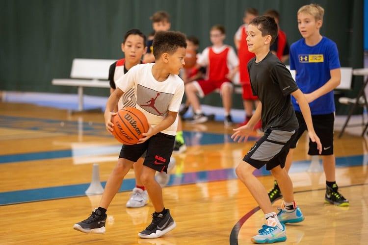 Kids Playing Basketball