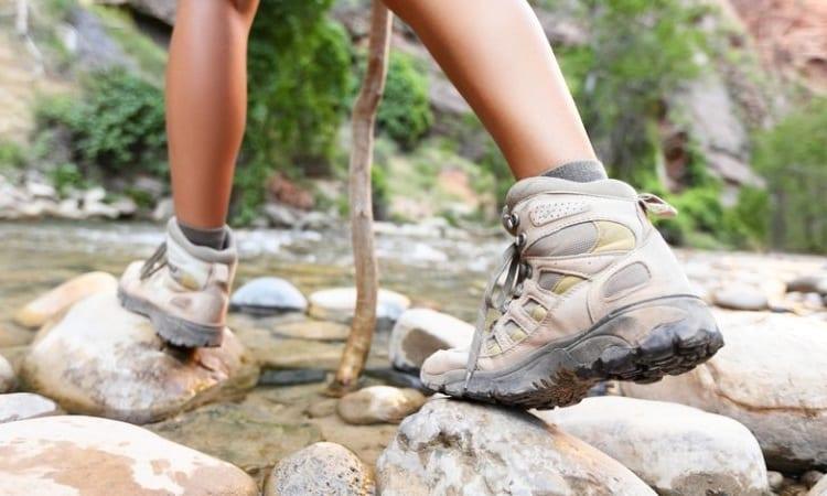 walking on water stones
