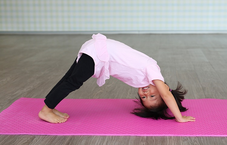 how to train flexibility with kids