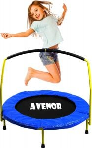 agility article toddler trampoline